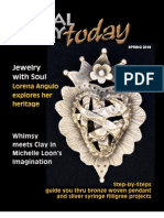 METAL CLAY TODAY MAGAZINE SPRING 2010 ISSUE