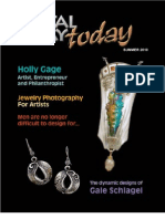 METAL CLAY TODAY MAGAZINE SUMMER 2010 ISSUE