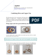 SILVER AND COPPER METAL CLAY GUIDE BY HADAR JACOBSON
