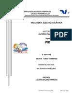 PID control automático (proporcional integral derivativo)