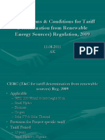 CERC Regulation Renewable Electricity