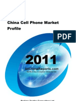 China Cell Phone Market Profile