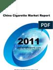 China Cigarette Market Report