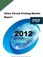 China Circuit Printing Market Report