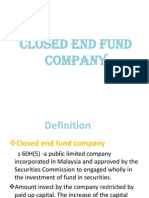 Closed End Fund Company