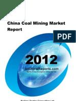 China Coal Mining Market Report