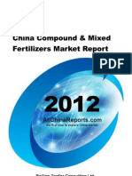 China Compound Mixed Fertilizers Market Report