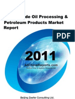 China Crude Oil Processing Petroleum Products Market Report