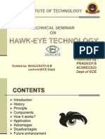 Hawk Eye Technology Ppt
