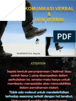 komunikasi VERBAL – NON VERBAL