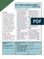 Weekly Bulletin 3.9.12