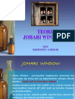 Teori Johari Window