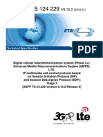 IP Multimedia Call Control Protocol Based (LTE)