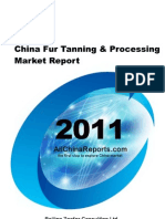 China Fur Tanning Processing Market Report