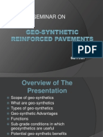 GEOSYNTHETIC – REINFORCED PAVEMENTS