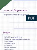 Internal Organisation v4
