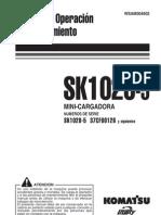 Komatsu SK1020-5 Manual de Operación y Mantenimiento WSAM004602