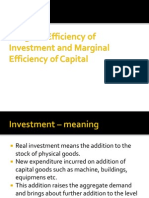 Marginal Efficiency of Capital