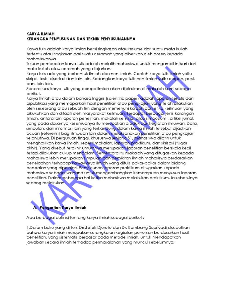Skripsi Tesis Disertasi Merupakan Karya Ilmiah Yang Ditulis Untuk Memenuhi Sasaran Masyarakat Ide Judul Skripsi Universitas