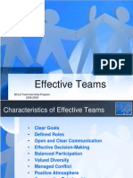 Effective Teams and Decision Making for Triad Feb 11