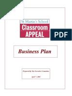 Business Plan Primary School