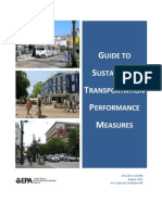 Sustainable Transpo Performance