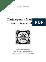 2446970 eBook Martinismo EnG Ambelain Robert Contemporary Martinism and Its True Origins