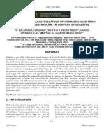 Gymnemic Acid