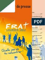 Lourdes 2012 - Dossier Presse