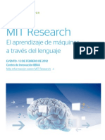 MIT RESEARCH El aprendizaje de máquinas a través del lenguaje