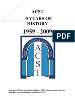 ACST 50 Yrs of History (July 09)