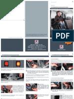 Kurzbedienungsanleitung Rollstuhlhalterung