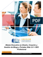 Master Diseno Blogs Portales Web