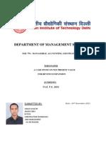 Vikalp Awasthi -Term Paper SML 770