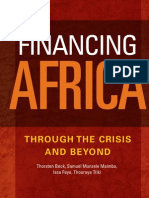 Financing Africa Through the Crisis and Beyond-2011