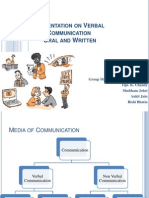 Presentation on Verbal Communication