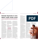 Perinatal depression in men