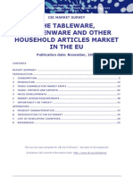 Tableware, Kitchenware and Other House Articles in EU 2009