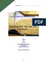 Reg Custas Processuais_Aplicação_Lei_tempo_29_MAR_2012_2fls