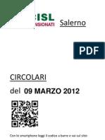 Circolari FNP CISL Del 09 Marzo 2012