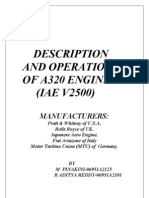 Description and Operation of a320 Engine ( Iae v2500 )
