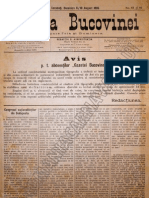 Gazeta Bucovinei #61-62, Duminica 6 (18) August 1895