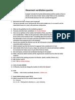 CFD Basement Ventilation Queries