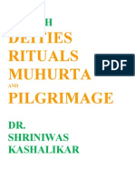 Health Deities Rituals Muhurta and Pilgrimage Dr. Shriniwas Kashalikar