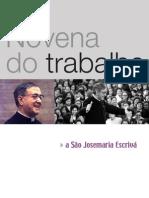 Novena do trabalho - São Josemaria Escrivá