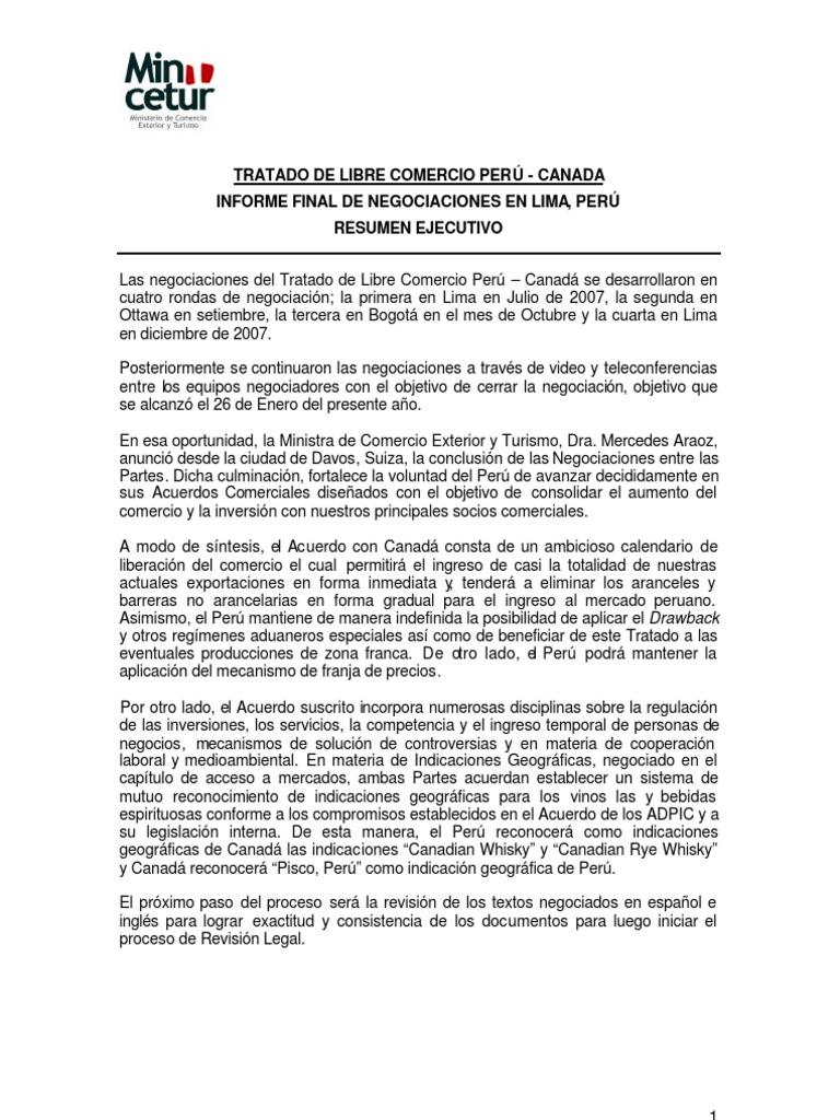 informe final tlc perú canada