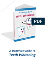 A Dummies Guide to Teeth Whitening