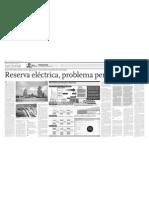 Reserva eléctrica, reserva pendiente
