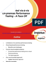 Cloud-enabled vis-à-vis On-premise Performance Testing - Impetus Webinar
