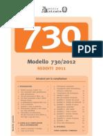 Modello e istruzioni 730/2012 - Ettore Colella